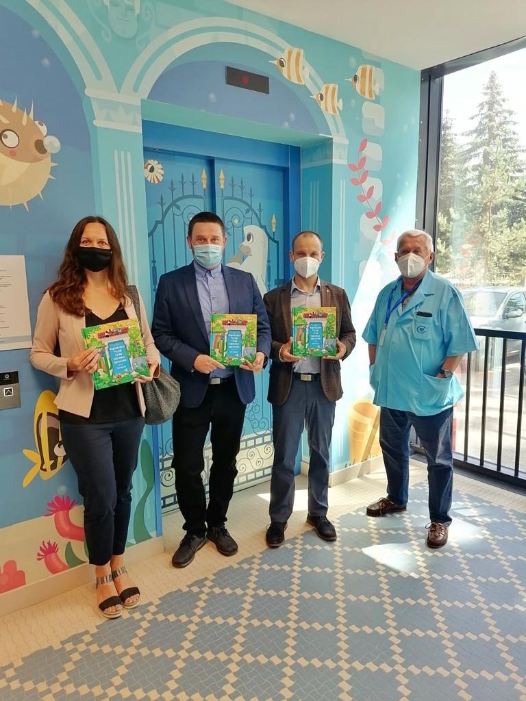 Razem mogą więcej – Ceramika Paradyż i Grupa Selena wprowadzają bajkowy klimat w Centrum Zdrowia Dziecka w Warszawie