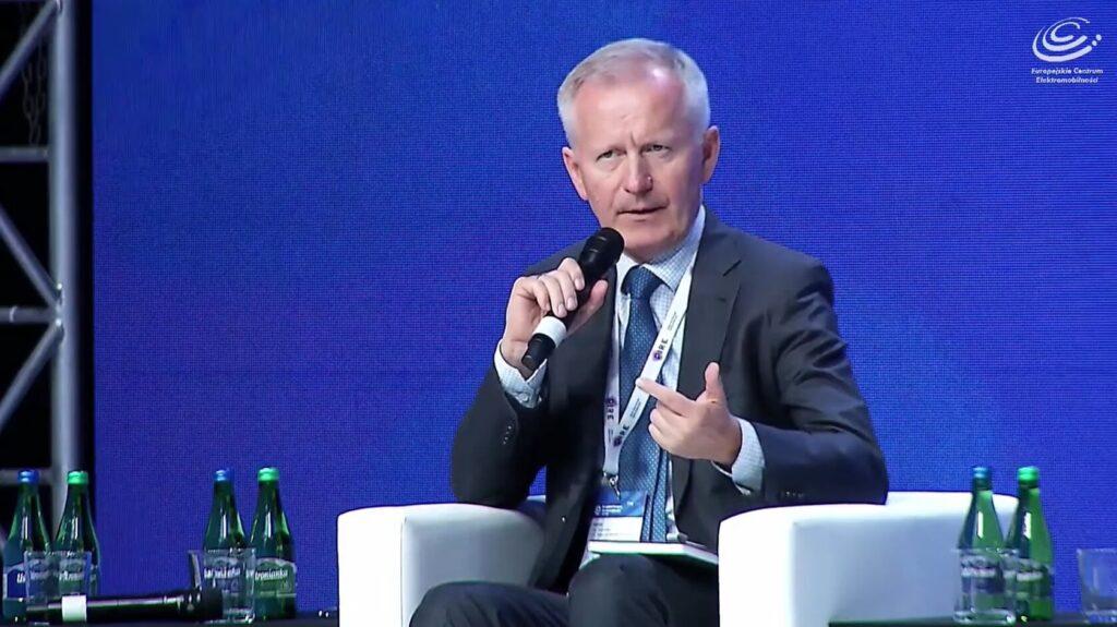 Krzysztof Domarecki na Europejskim Kongresie Elektromobilności 2021